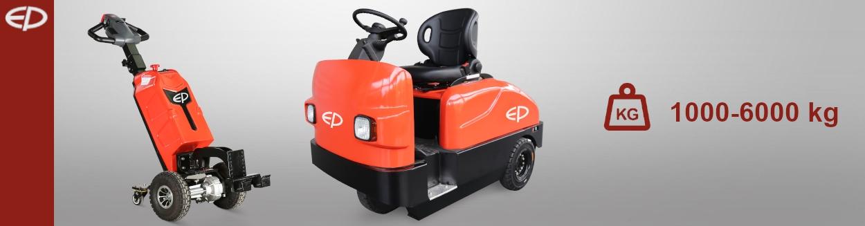 Elektryczne wózki ciągnikowe