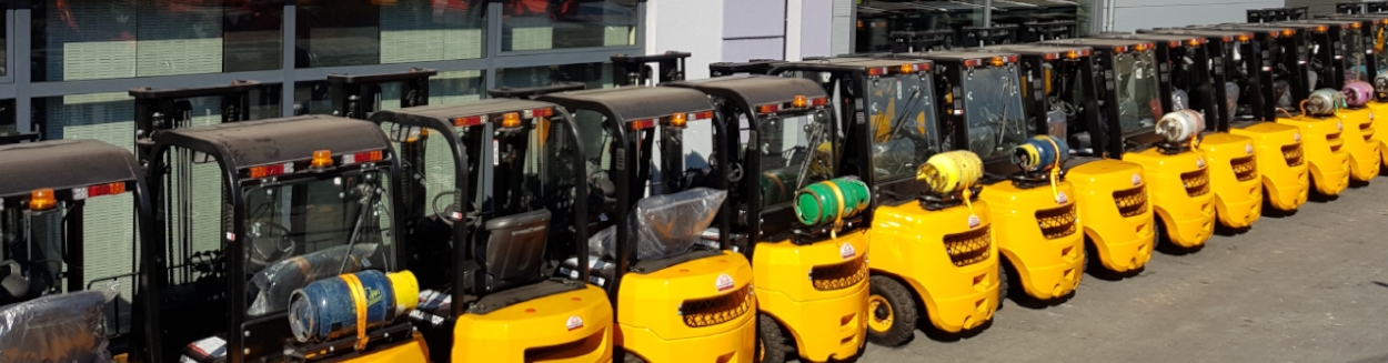 Wózki widłowe gazowe