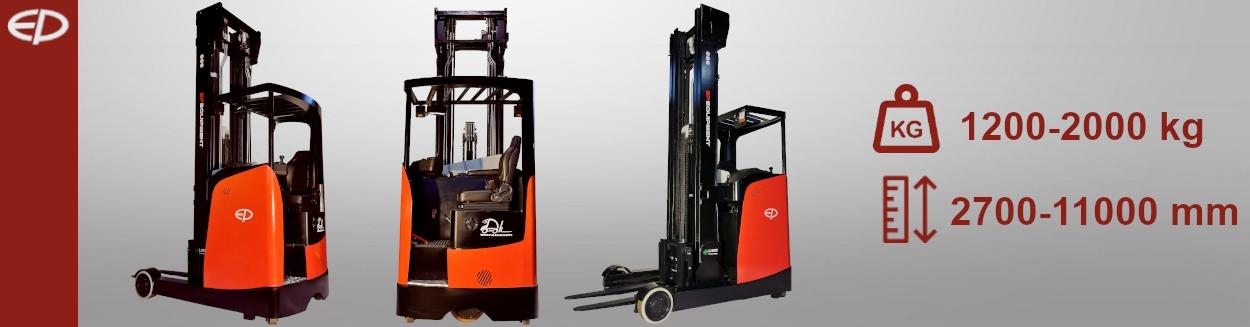 Wózki wysokiego składowania         Reach Truck