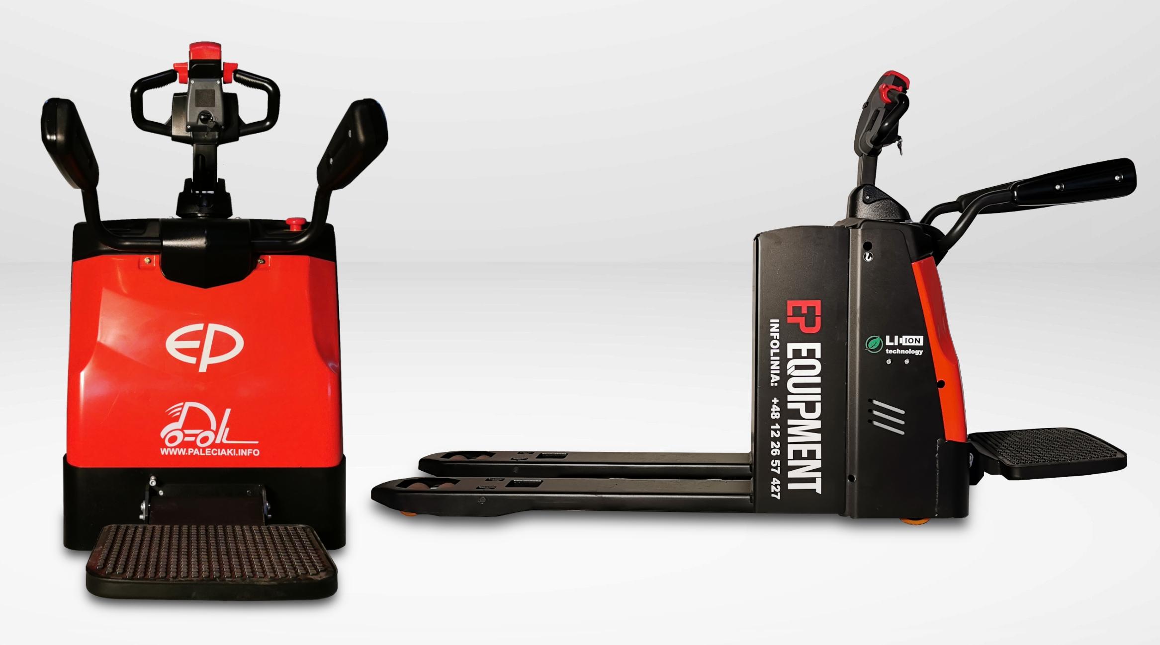 Elektryczny wózek paletowy RPL201H