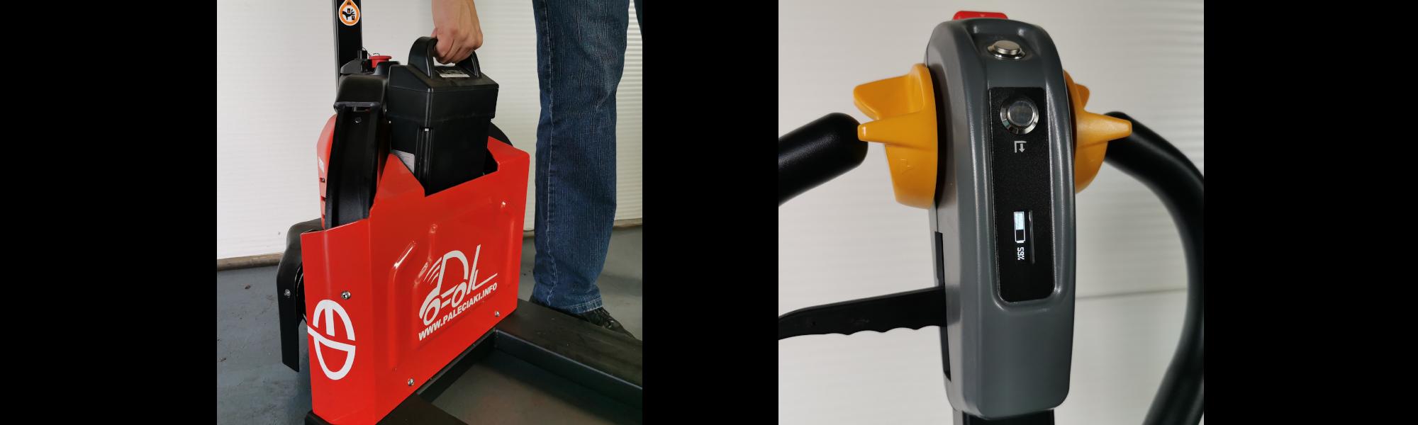 Elektryczny wózek paletowy 12EZ